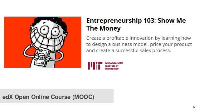 12 edX Open Online Course (MOOC)