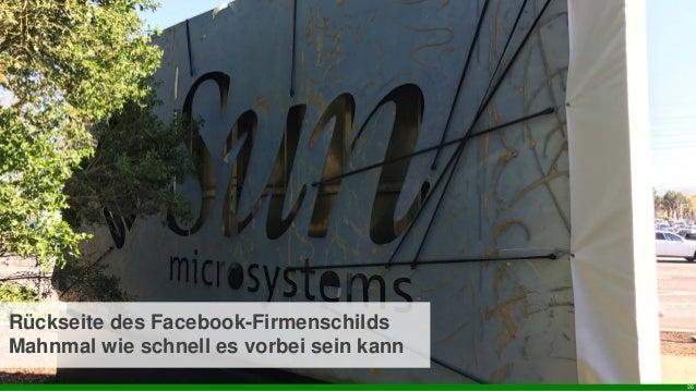 26 Rückseite des Facebook-Firmenschilds Mahnmal wie schnell es vorbei sein kann