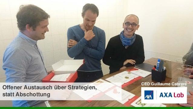 30 CEO Guillaume Cabrere Offener Austausch über Strategien, statt Abschottung