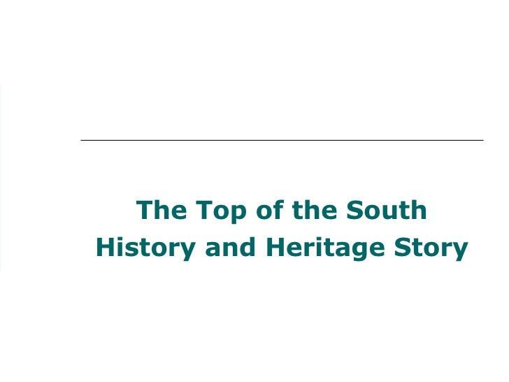 The Top of the South History and Heritage Story