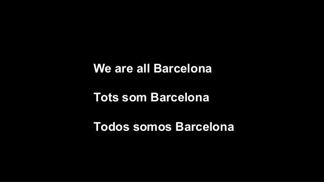 Tots som Barcelona Slide 2