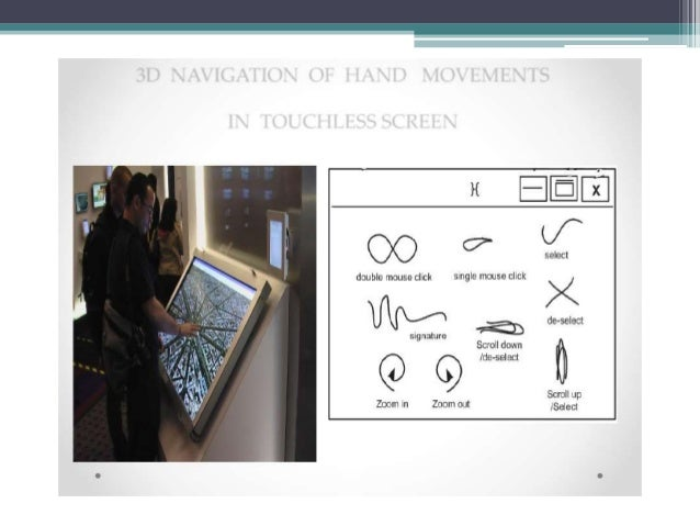 9 Minority Report Inspired Touchless Technology: • 1. Tobii Rex: Tobii Rex is an eye-tracking device from Sweden which wor...