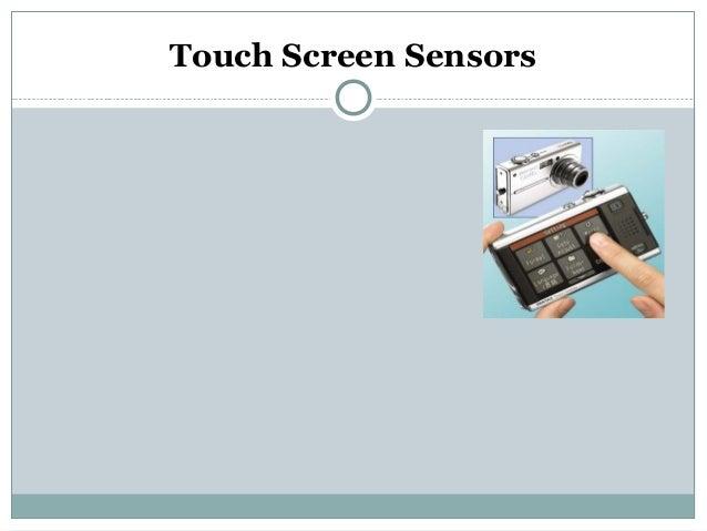 Touch Screen Sensors