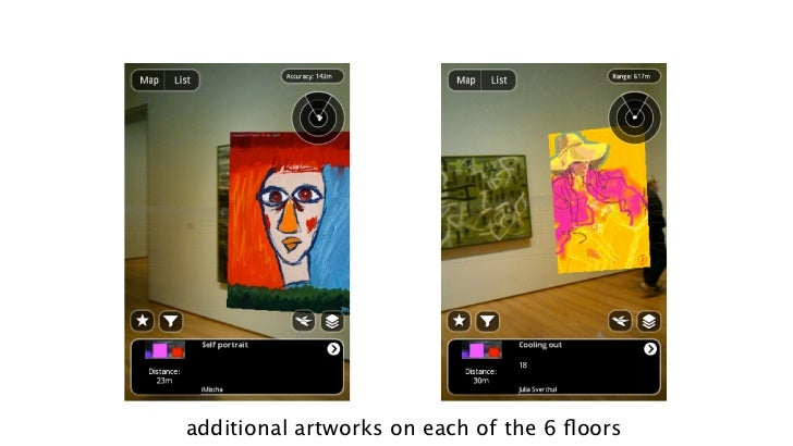 additional artworks on each of the 6 floors