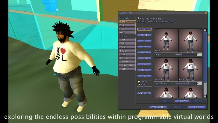exploring the endless possibilities within programmable virtual worlds