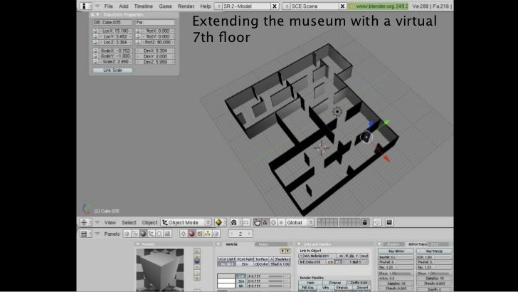 Extending the museum with a virtual7th floor