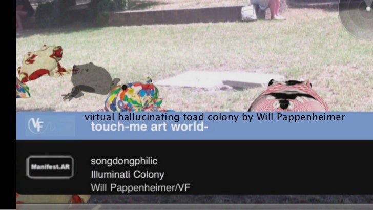 virtual hallucinating toad colony by Will Pappenheimer