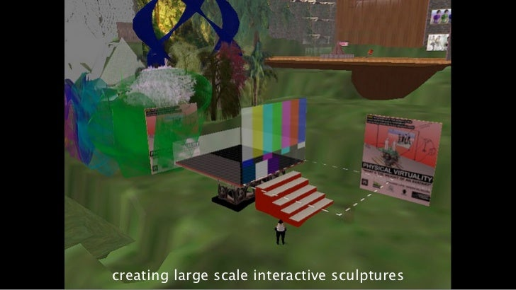 creating large scale interactive sculptures