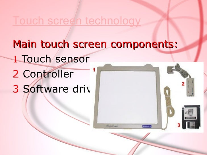 TOUCH SENSOR .A touch sensor is a clear glass panel with a touch    responsive surface .The sensor generally has an elec...