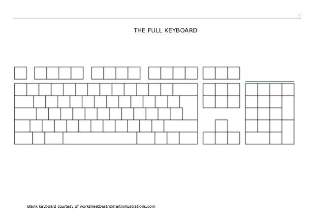 Touchtyping Skills Worksheet A v1 – Typing Worksheets