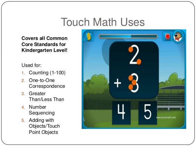 Touchy touch math – Touch Math Worksheet