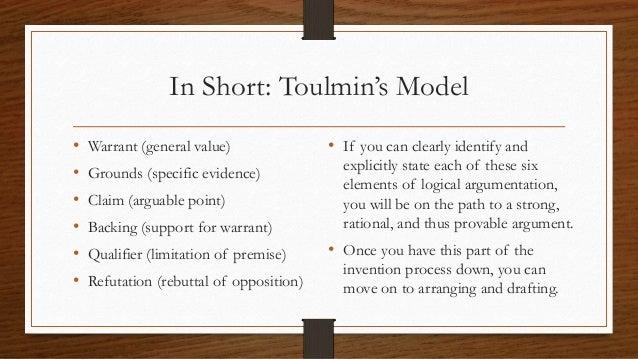 toulmin model  u0026 logical syllogisms