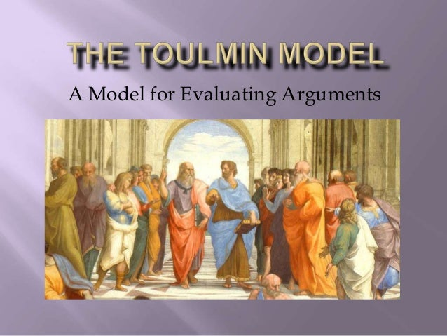 A Model for Evaluating Arguments