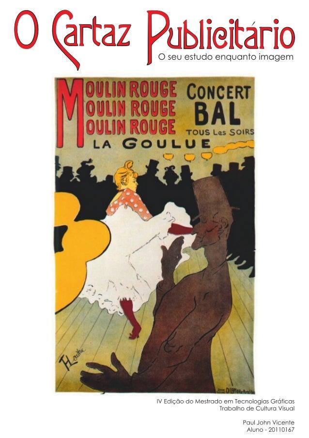 Análise do cartaz Moulin Rouge La Goulue de Toulouse-Lautrec                                                         Cultu...