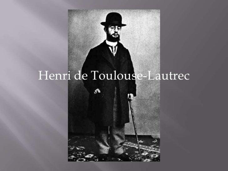 Henri de Toulouse-Lautrec <br />