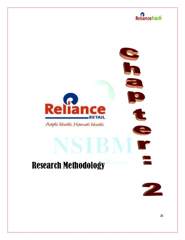 research papers on reliance fresh Reliance fresh [pic] a case of supply chain and its impact on other retailers reliance fresh: a case study prepared for: mr shashank mehra (faculty, marketing research, center of retail, fddi, ministry of commerce.