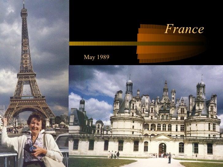 France May 1989
