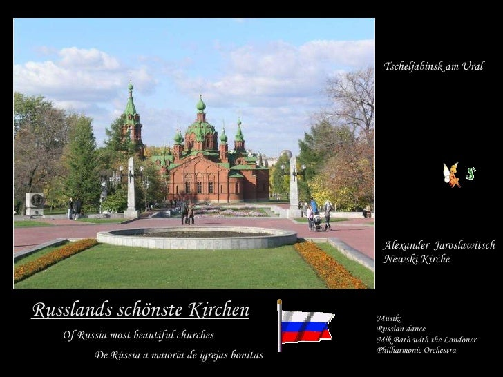 Russlands schönste Kirchen Tscheljabinsk am Ural Alexander  Jaroslawitsch  Newski Kirche Of Russia most beautiful churches...