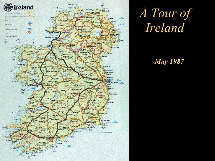 A Tour of Ireland May 1987