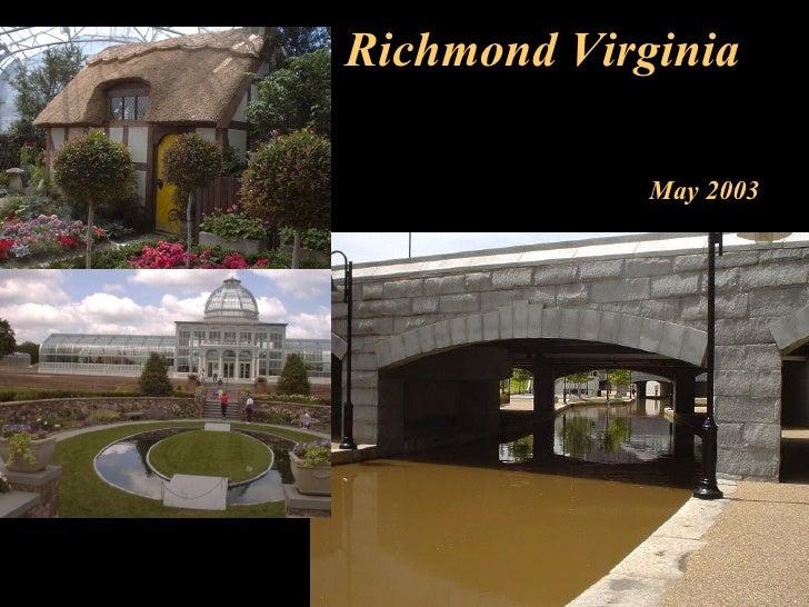 Richmond Virginia May 2003