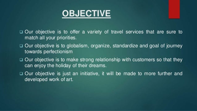 travel and tourism business plan ppt