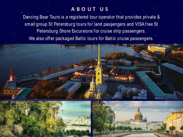 Tour Companies In St Petersburg Dancing Bear Tours - St petersburg tours for cruise ship passengers