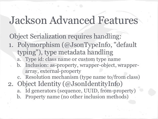 Source code: Class JsonGenerator.java part of javax.json version 1