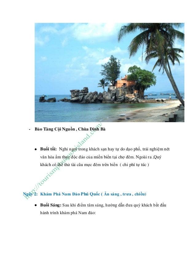 Tour du lịch phú quốc 3 ngày 2 đêm gói tiết kiệm Slide 3