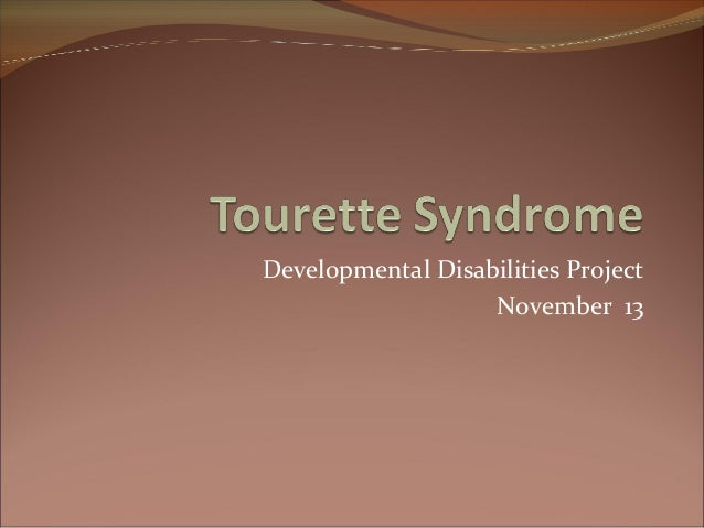 tourette syndrome 2 essay Today we are pleased to feature a guest blog by shirag shemmassian, phd we met dr shemmassian at the 2016 national conference of the tourette association of america his work as a consultant helping students with disabilities fits well with our goal of helping college students who have tourette syndrome.
