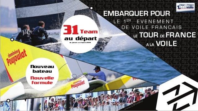 www.Z3PHYR.fr 31Team au départdu jamais vu depuis 2008 Nouvelle formule Nouveau bateau