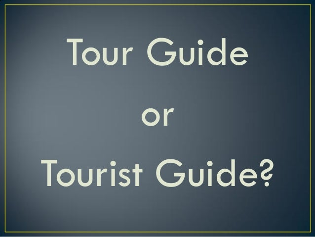 An individual, who, either as an employee or affiliate of a duly licensed travel & tour agency, GUIDE tourist, both foreig...