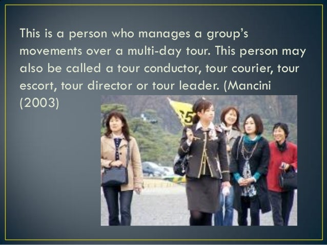Tour Conducting is about managing tours, it involves traveling with groups while staying with groups, controlling and ente...