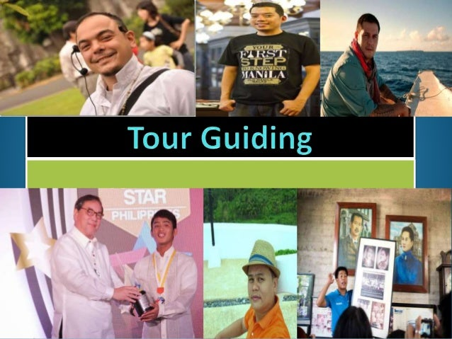 To Define The Term Tour Guide 2.