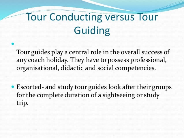 tour guiding study guide Master in tour guiding, study plan: 72 ects  the tourism system  worldwide, travel geography and markets, tour guide role, the present and the .