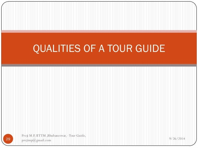 Iittm Tour Guide Course