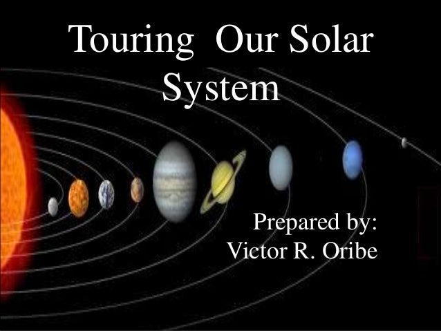 Touring our solar system (astronomy)