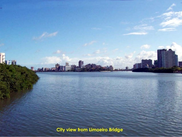 City view from Limoeiro Bridge