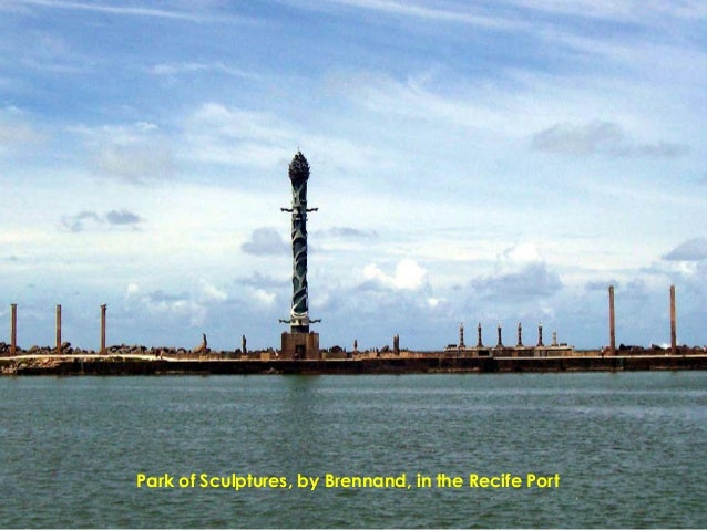 Park of Sculptures, by Brennand, in the Recife Port