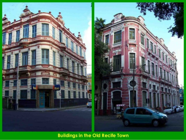 Buildings in the Old Recife Town