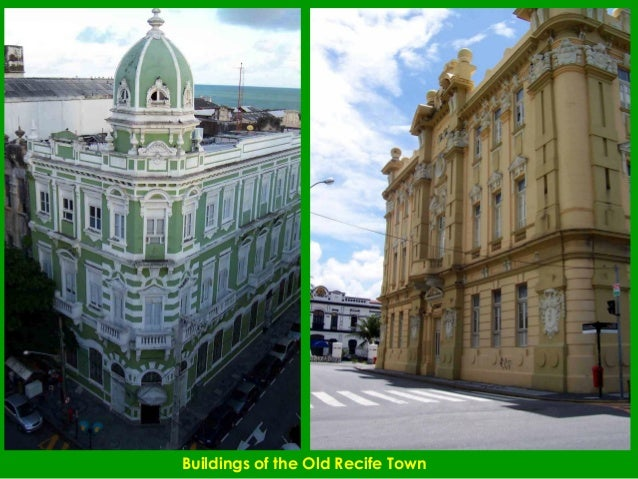 Buildings of the Old Recife Town