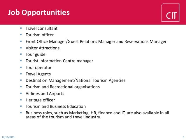 International Travel Consultant Job Opportunities