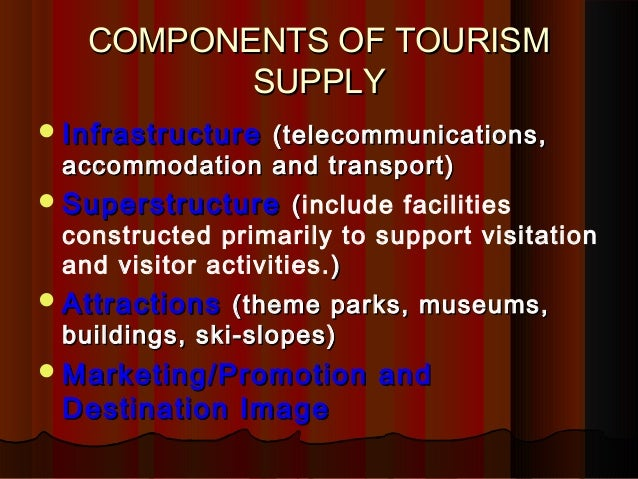 The determinants of tourism demand