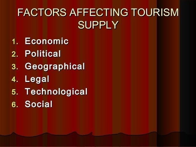 the determinants of tourism demand Summary: the paper estimates the impact of macroeconomic supply- and demand-side determinants of tourism, one of the largest components of services exports globally.
