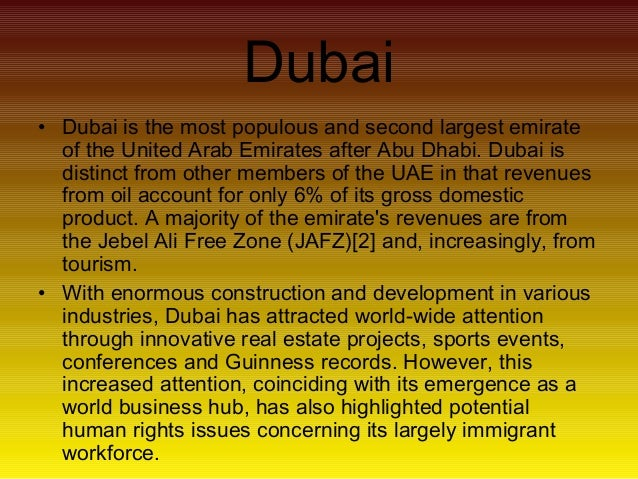 the impact of tourism in dubai Home about dubai  dubai economy:  tourism, industry and finance have shown steady growth and helped the economy to achieve a high degree of expansion and.