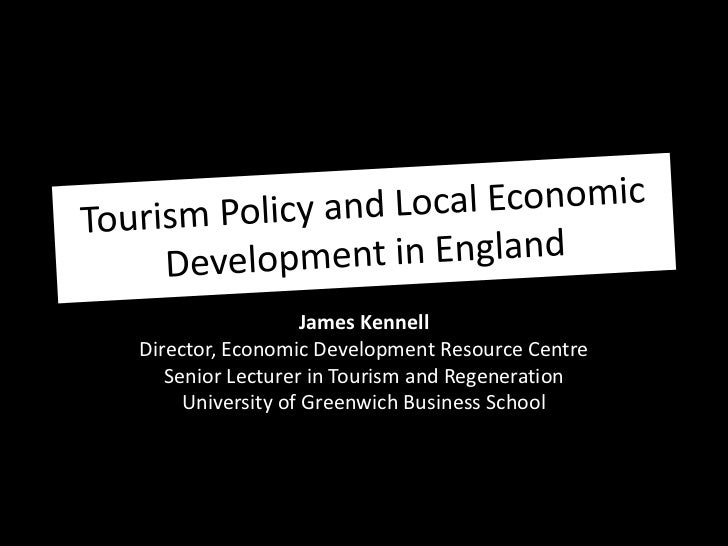 James KennellDirector, Economic Development Resource Centre   Senior Lecturer in Tourism and Regeneration     University o...