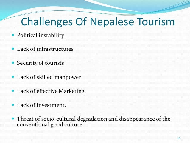 What are the threats and obstacles to tourism in India?
