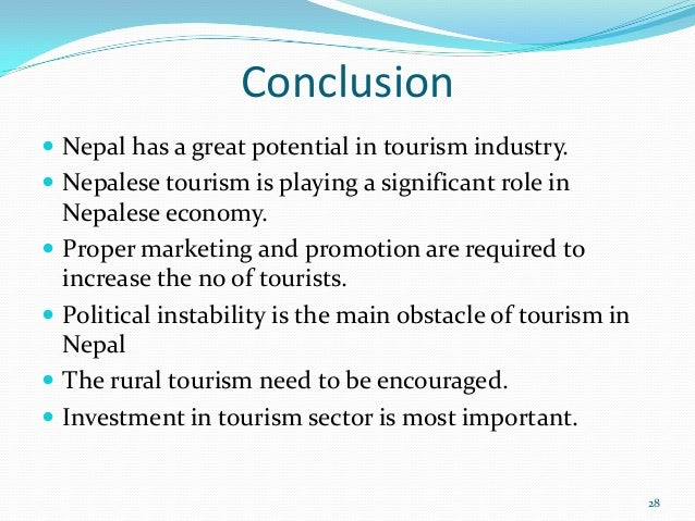 conclusion of tourism Find speech on travel and tourism for students and others find long and short travel and tourism speech in very simple and easy words.