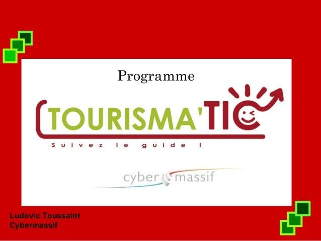 ProgrammeLudovic ToussaintCybermassif