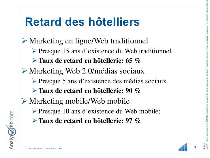 Tourisme Web 2.0 : communication directe avec la clientèle Slide 3