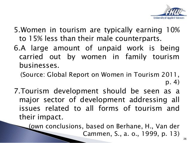 Tourism research paper